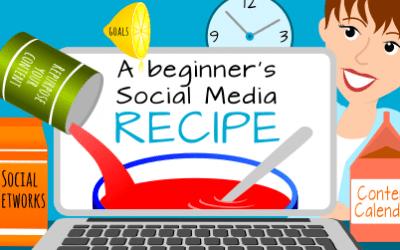 A Beginner's Social Media Recipe in just 12 Steps