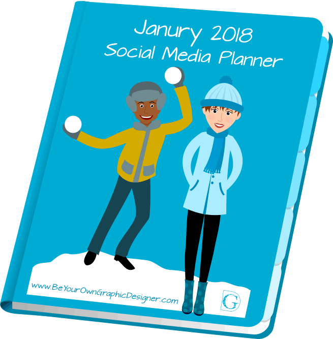 January 2018 Social Media Planner