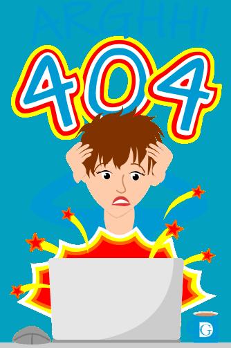 Arghh! 404 Error
