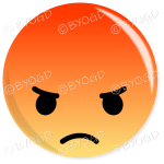 Facebook Emoji Angry button