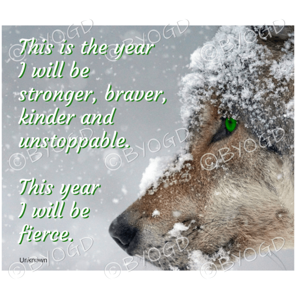 Quote image 5: This is the year I will be stronger