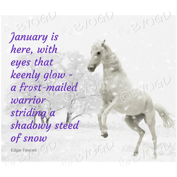 Quote image 9: January is here with eyes that