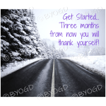 Quote image 15: Get started… Three months from