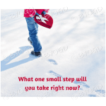 Quote image 29: what one small step will you take