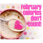 Quote image 33: February calories don't count!