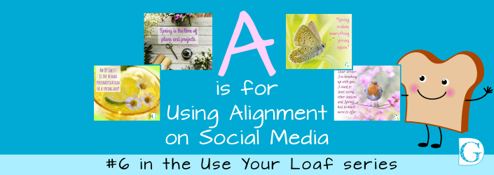 A is for Using Alignment on Social Media