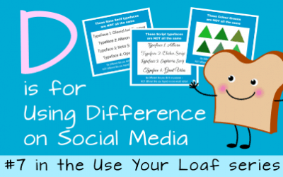 D is for Using Difference on Social Media