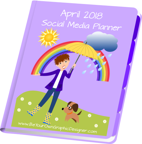 April 2018 Social Media Planner