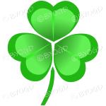 Irish Shamrock ideal for St. Patrick's day