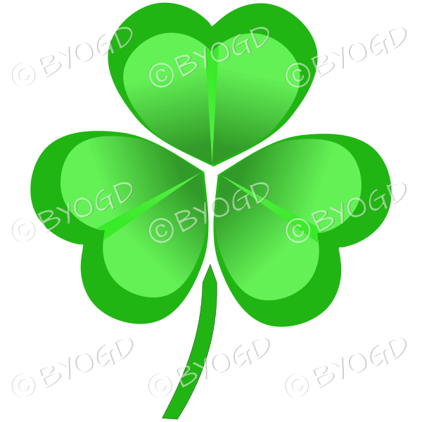 Irish Shamrock ideal for St. Patrick's day