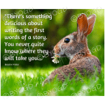 Quote image 41: There's something delicious about