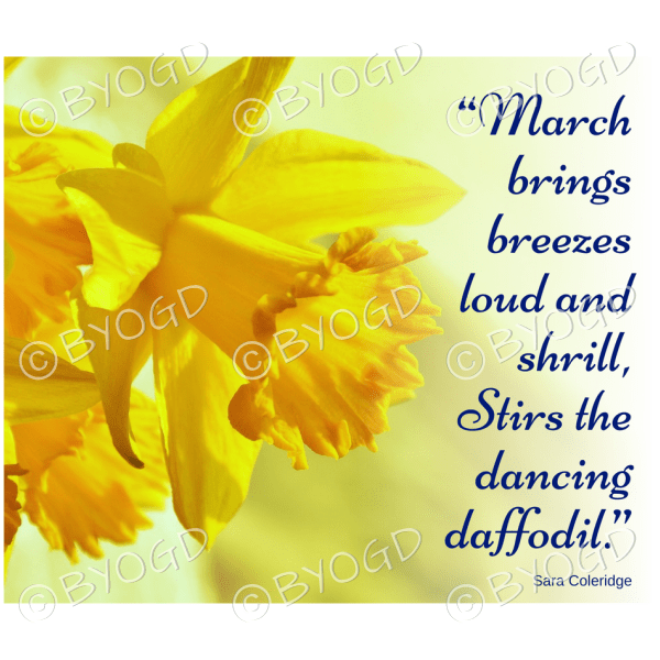 Quote image 48: March brings breezes loud and