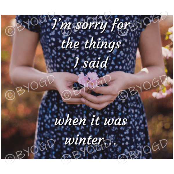 Quote image 54: I'm sorry for the things I said when