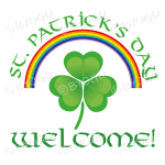 St Patrick's Day Welcome