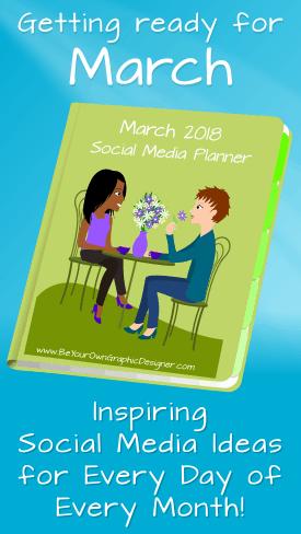 March Social Media Planner