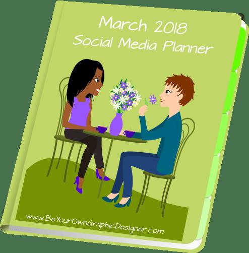 March 2018 Social Media Planner