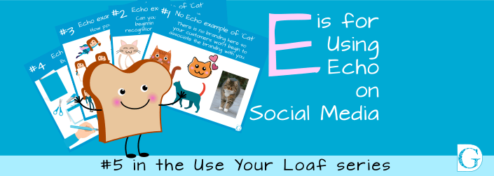 E is for Using Echo on Social Media