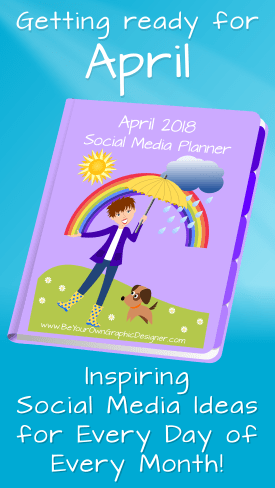 April Social Media Planner
