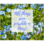 Quote image 97: All things seem possible in May