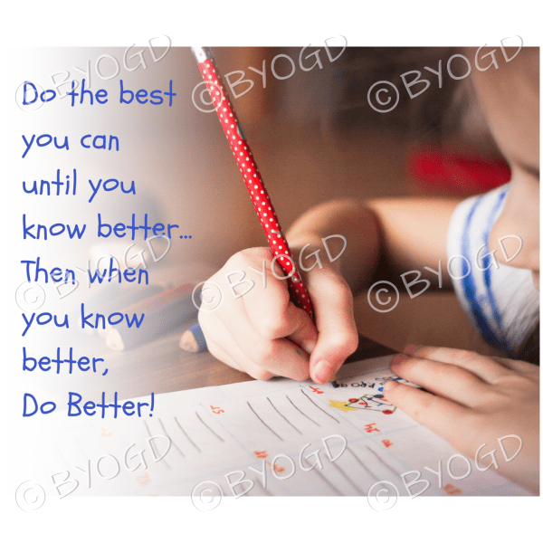 Quote image 103: Do the best you can