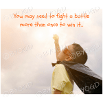 Quote image 105: You may need to fight a battle