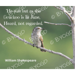Quote image 122: He was but as the cuckoo is in June