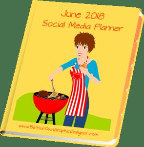 June 2018 Social Media Planner
