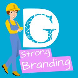 Tip 5 - Strong Branding