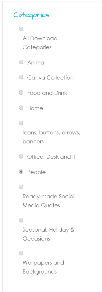 BYOGD Categories