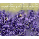 Quote image 131: The hum of bees