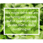 Quote image 146: We might think we are nurturing
