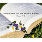 Quote image 149: Summertime and the reading is easy
