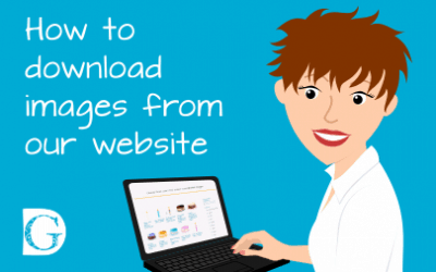 How to download images from our website