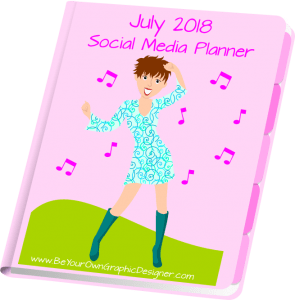 July 2018 Social Media Planner