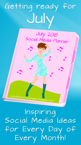 July Social Media Planner
