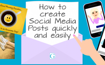 How to create social media posts quickly and easily