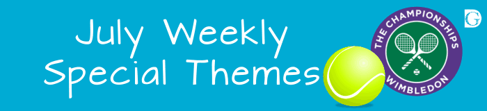 12 July Weekly Special Themes