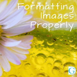Formatting Images Properly