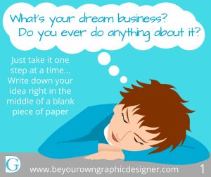 Step 1. What's your dream business?