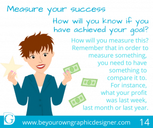 14. Measure your success