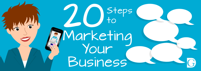 20 Steps to Marketing Your Business