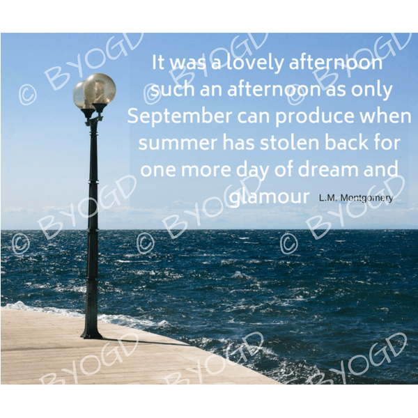 Quote image 184: It was a lovely afternoon – such an afternoon