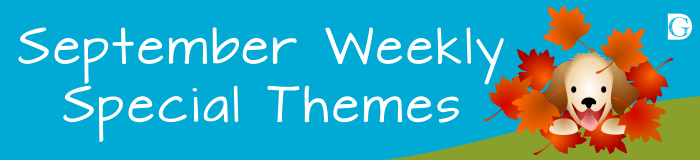 September Weekly Themes
