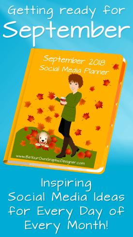 September Social Media Planner