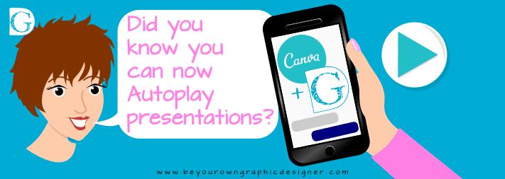 Autoplay presentations