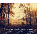 Quote image 193: The golden month has come again