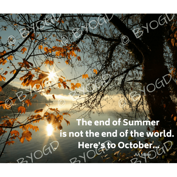 Quote image 206: The end of Summer is not