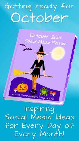 October Social Media Planner