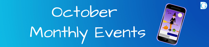 October Monthly Events