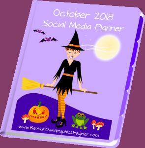 October 2018 Social Media Planner